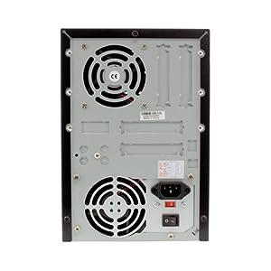 5 Bay Black Enclosure w/350 Watt Power Supply For DVD CD Blu-Ray HDD Duplicator