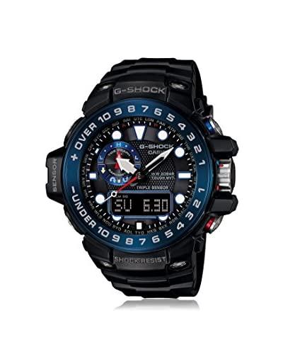 CASIO Men's Black Resin & Stainless Steel Watch