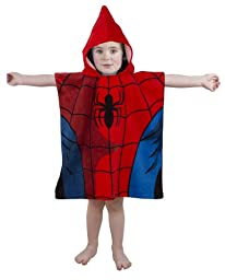 Character Spiderman Thwipp 100% Cotton Poncho