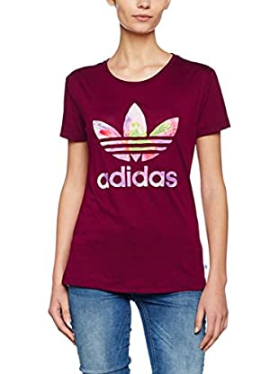adidas Camiseta Manga Corta Grph Trefoil (Magenta)