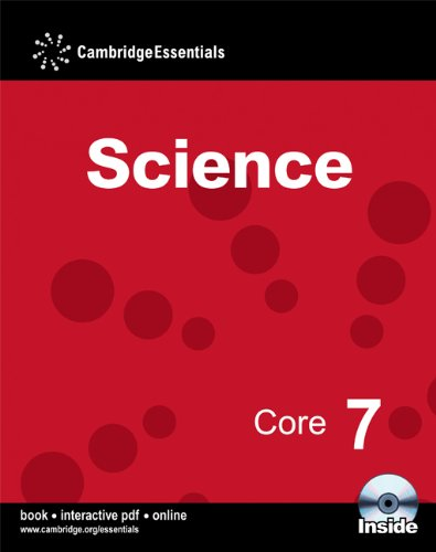 Cambridge Essentials Science Core 7 Book with CD-ROM: No. 7
