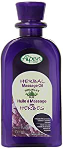Alpen Secrets Herbal Therapy Stress Relief Massage Oil, 8.4-Ounces Bottles (Pack of 3)