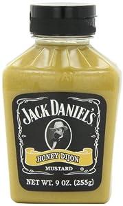 Jack Daniels Honey Dijon Mustard, 9-Ounce Bottles (Pack of 6)