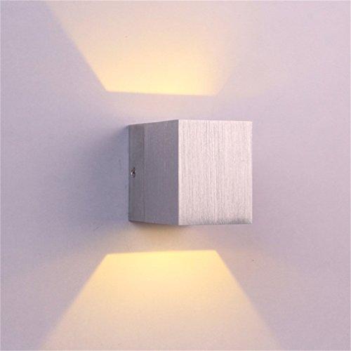 Icoco applique murale int rieur led moderne lampe carr e - Applique murale bureau ...