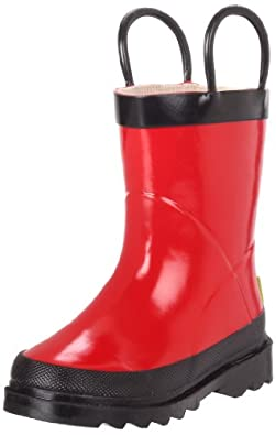 Western Chief Fire Chief Rain Boot (Toddler/Little Kid/Big Kid),Red,9 M US Toddler