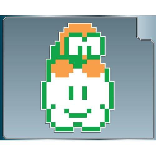 Amazon.com: LAKITU 8Bit from Super Mario Bros. vinyl decal sticker