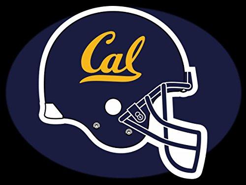 California Golden Bears Helmet Team Logo Poster