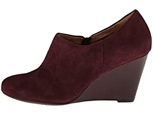 Clarks Purity Frost (7, Burgundy Suede)