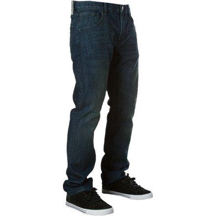 Quiksilver Reese Forbes Denim Pant - Men's Tinted Indigo Wash, 34x34