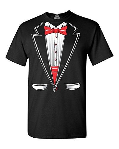 Tuxedo Funny T-Shirt Funny Shirts X-Large Black