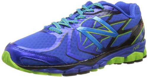 New Balance Mens Running Shoes M1080BL4 Blue/Green 7 UK, 40.5 EU