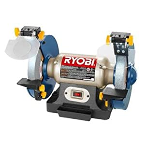 Factory Reconditioned Ryobi Zrbg828 3 Amp 8 In Dual Bench
