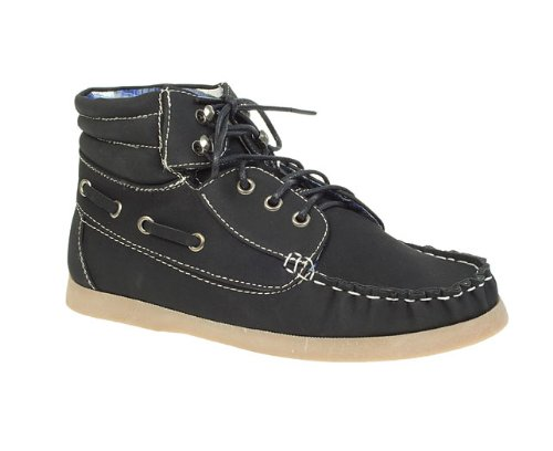 Barratts Junior Boys Kids Boat Shoe Ankle Boots
