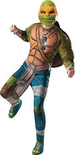 Adult Teenage Mutant Ninja Turtles Movie Deluxe Adult Muscle Chest Michelangelo