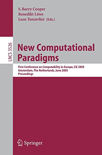 new-computational-paradigms-first-conference-on-computability-in-europe-cie-2005-amsterdam-the-nethe