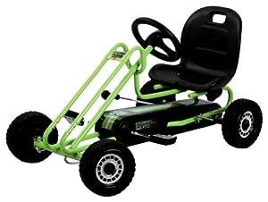 Hauck Traxx Lightning Pedal Go-Kart, Race Green