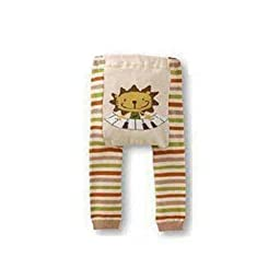 Wrapables Baby & Toddler Leggings, Piano Lion - 12 to 24 Months