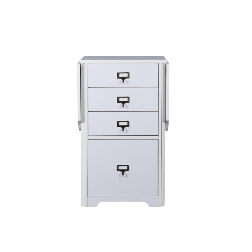 Amazon Com Sei White Fold Out Organizer And Craft Desk