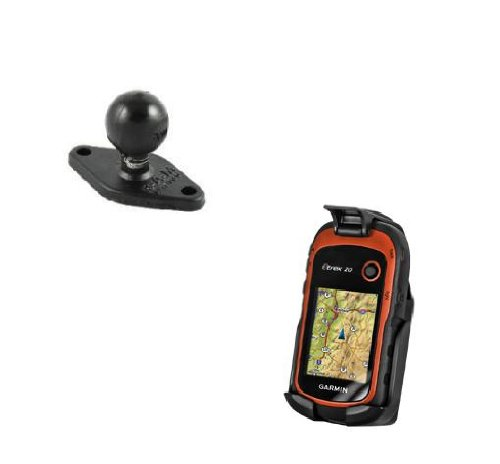RAM-HOL-GA48U RAM Cradle Holder w/ Back Ball for Gps Garmin Etrex 10 20 30 купить garmin etrex 20 б у