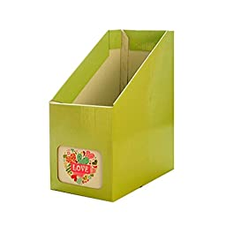 Set of 2 Creative Candy Green Color Simple Design DIY Organizers Boxes
