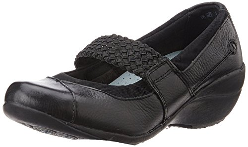 Hush-Puppies-Womens-Leather-Ballet-Flats