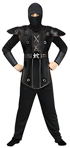 Boys Ninja Warrior Kids Child Fancy Dress Party Halloween Costume