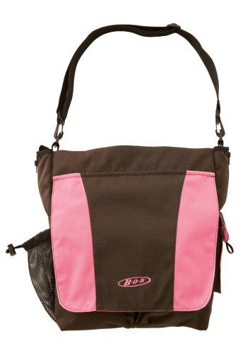 bob stroller diaper bag in chocolate pink designer nappy bags nappy bags designer. Black Bedroom Furniture Sets. Home Design Ideas