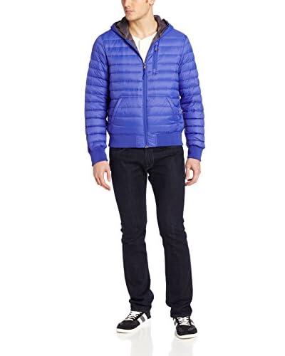 Calvin Klein Men's Hooded Down Packable Puffer