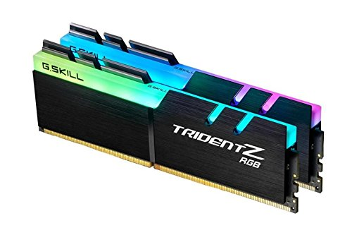 G.Skill 16GB DDR4 TridentZ RGB 4400Mhz PC4-35200 CL18 1.4V Dual Channel Kit (2x8GB) for Intel Z270 (Tamaño: 16 Gb)