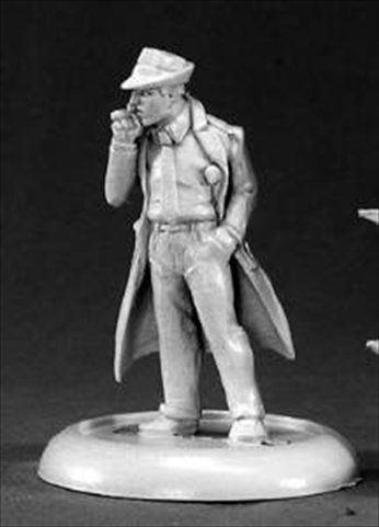 Reaper Miniatures 50051 Chrono Max Decker, Private Eye by Reaper