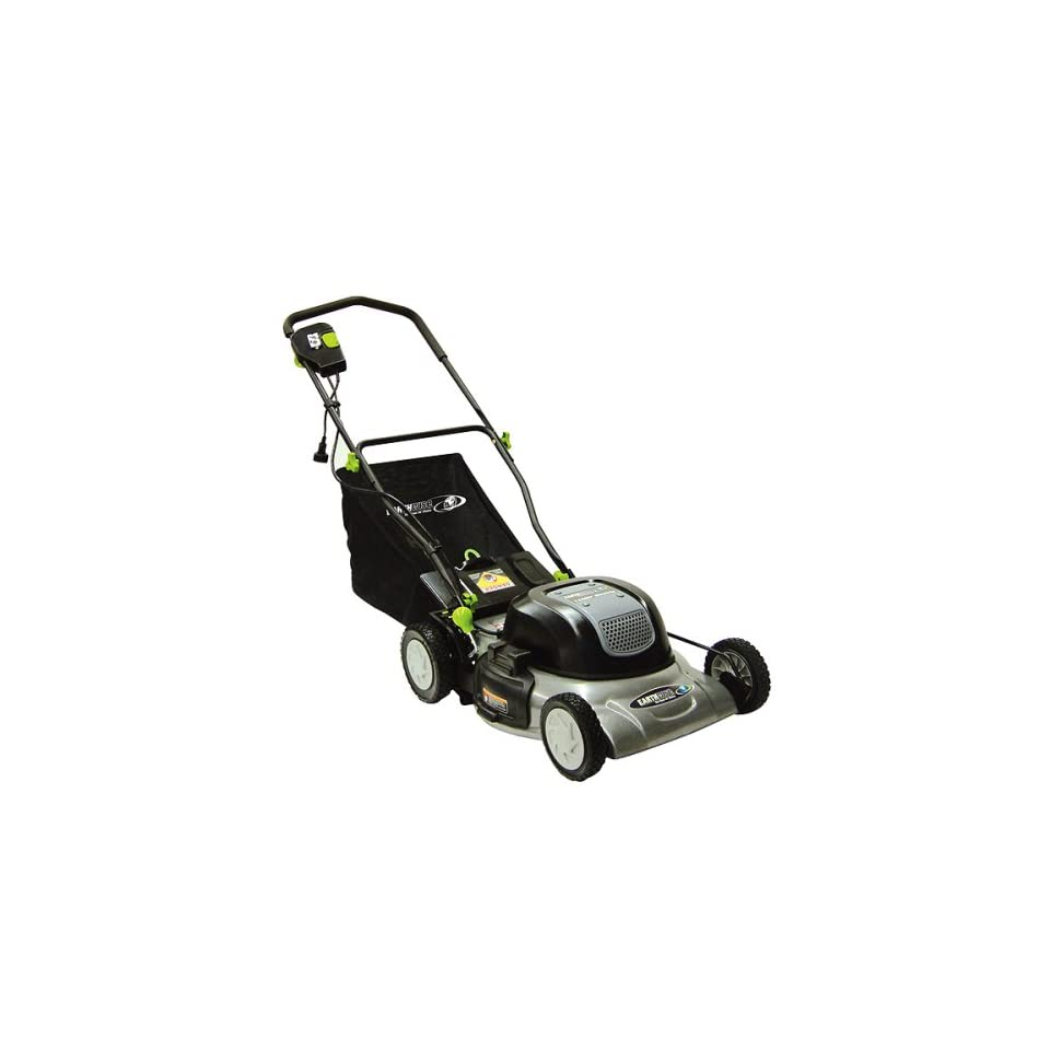 Earthwise 50120 20 Inch 12 Amp Electric Mulching Lawn
