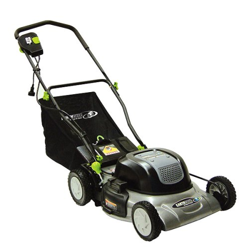 Earthwise 50120 20-Inch 12 amp Electric Mulching Lawn Mower with Grass Bag