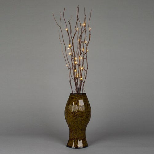 Gerson 41758 - 41758 Battery Operated Willow Lighted Branches