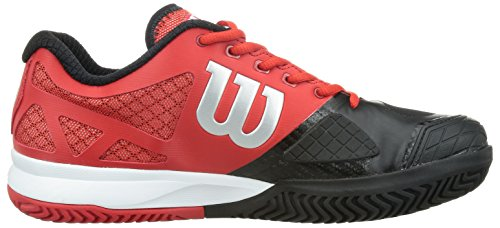 Wilson Rush Pro   Red Black Men S Shoes