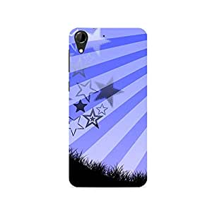 TAZindia Printed Hard Back Case Cover For HTC Desire 728