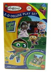Colorforms 3D Deluxe Play Set Super Why