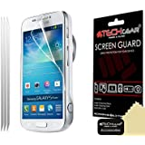 Techgear Clear LCD Screen Protector for Samsung Galaxy S4 Zoom (Pack of 3)