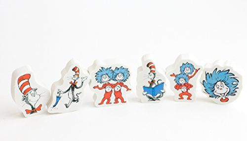 The Cat in The Hat Eraser Set