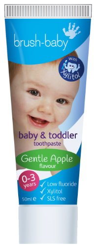 Brush-Baby Baby & Toddler Toothpaste (Pack of 3)