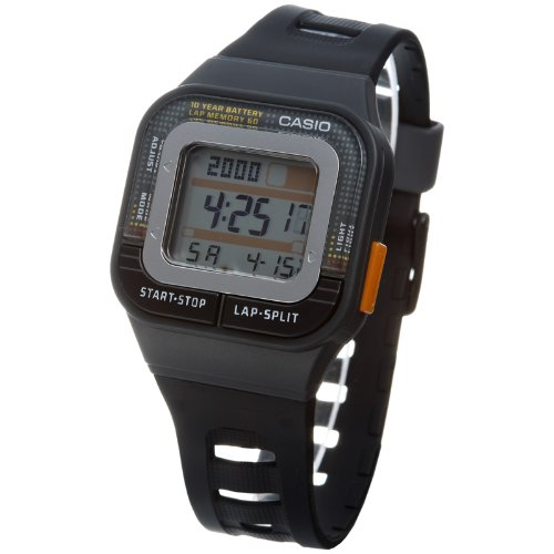 Casio SDB1001A - Reloj Unisex caucho Negro