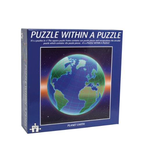 Planet Earth Puzzle In A Puzzle