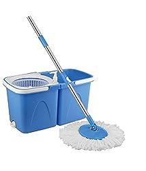 Blessed Single Bucket Mop Blue