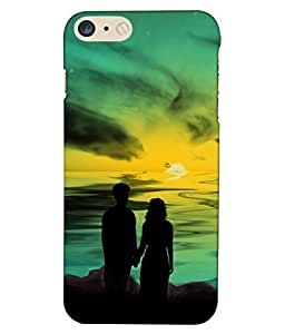 Crazymonk Premium Digital Printed 3D Back Cover For Apple I Phone 7