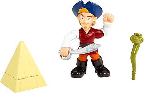 Fisher-Price Disney Jake and The Never Land Pirates Buccaneer Battling Captain Flynn