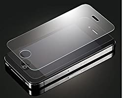 TOS Premium Tempered Glass Combo of 2 Pack/Pieces for Iphone 4/4s