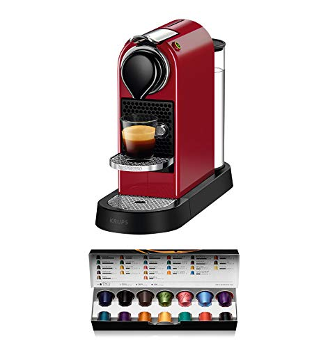 Nespresso Krups Inissia XN1001 19 bares apagado autom/ático Cafetera monodosis de c/ápsulas Nespresso color blanco
