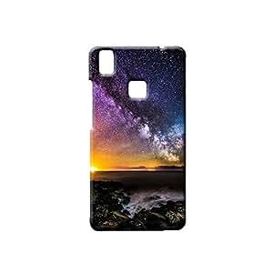 BLUEDIO Designer Printed Back case cover for VIVO V3 - G5780