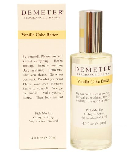 Demeter Vanilla Cake Batter By Demeter Cologne Spray, 4 Ounce