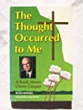 The Thought occurred to me: A book about Owen Cooper