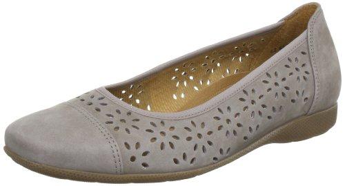 Gabor Shoes Gabor Comfort Ballet Flats Women Nubuk Soft (visone) Size: 7 (41 EU)
